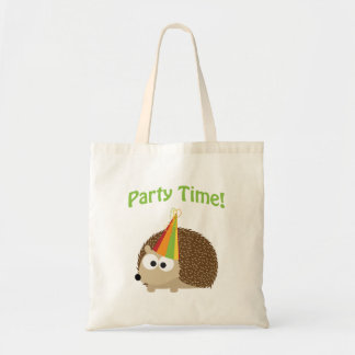 Party Time! Hedgehog Tote Bag