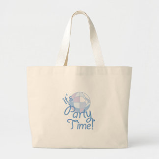 Party Time Large Tote Bag