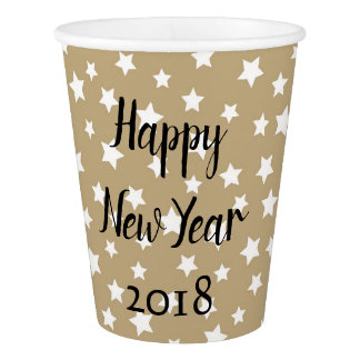 Party Time New Year Paper Cup