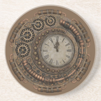 Party Time Steampunk Style Coaster