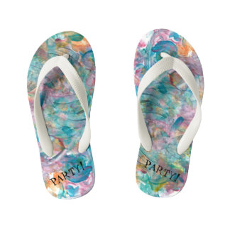 Party Toddler Flip Flops