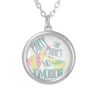 Party Tomorrow Silver Plated Necklace