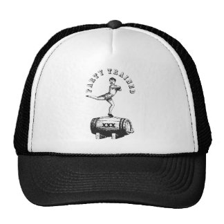 Party Trained Trucker Hat