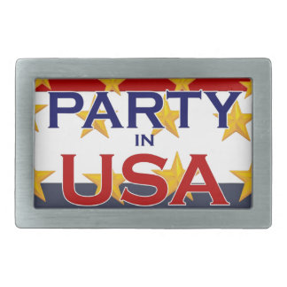PARTY USA BELT BUCKLES