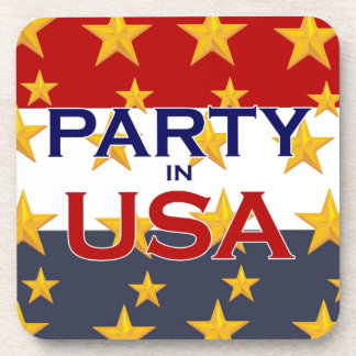 PARTY USA COASTER