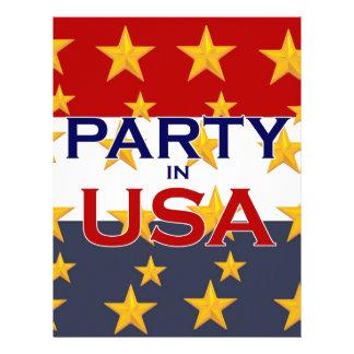 PARTY USA LETTERHEAD