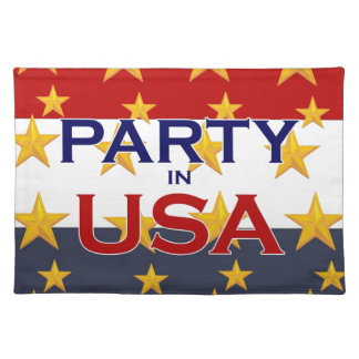 PARTY USA PLACEMAT