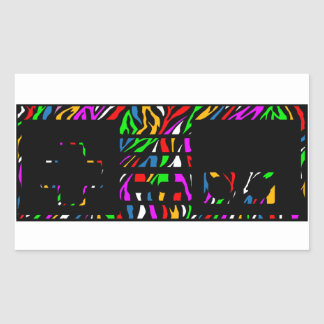 Party zebra print NES Controller Sticker
