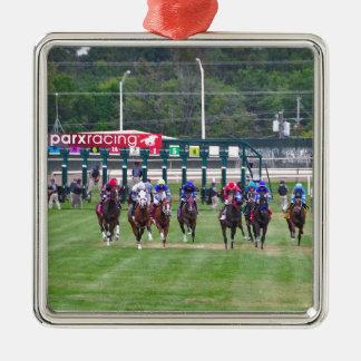 Parx Racing Metal Ornament
