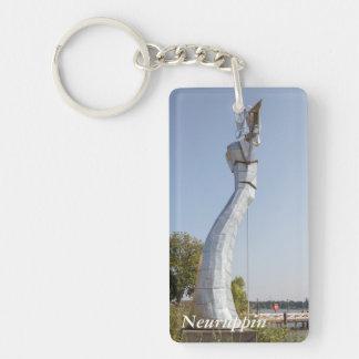 Parzival Am See, Neuruppin Single-Sided Rectangular Acrylic Keychain