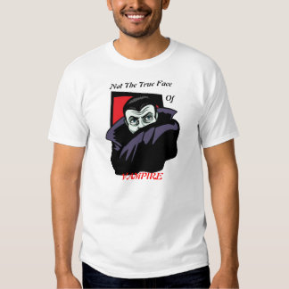 Pas le visage du vampire t-shirt