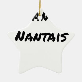 PAS NANTI, NANTES - Word games - François City Ceramic Ornament