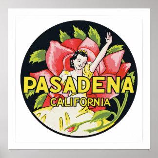Pasadena California Poster