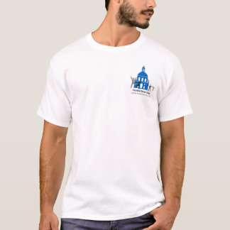 Pasadena Senior Center T-shirt front & back