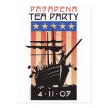 Pasadena Tea Party Postcard