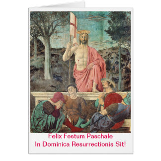 Paschalis Scida In Dominica Resurrectionis Card