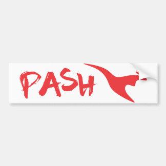 Pash Bumper Sticker