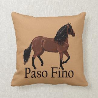 """Paso Fino Bay """"Paso Fino"""" Throw Pillow"""