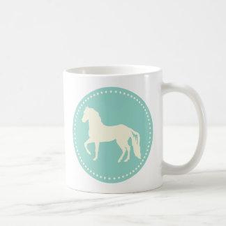 Paso Fino Horse Silhouette Coffee Mug