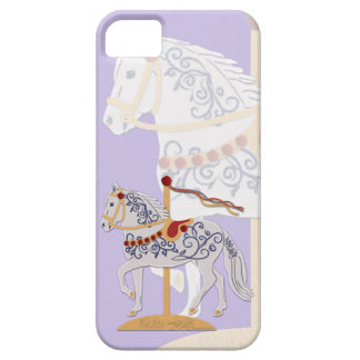 Paso Fino Rose Scroll Carousel Horse Case For The iPhone 5