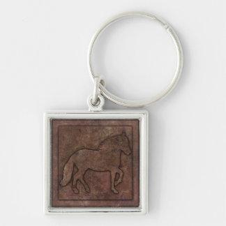 Paso Fino Stone-look Keychain