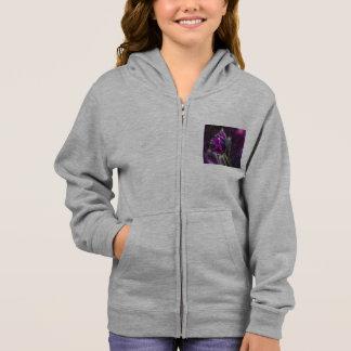pasque flower hoodie