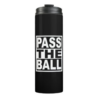 Pass the Ball Thermal Tumbler