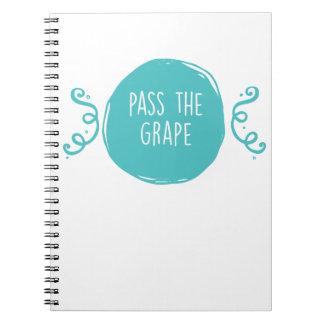 Pass the Grape Notebooks
