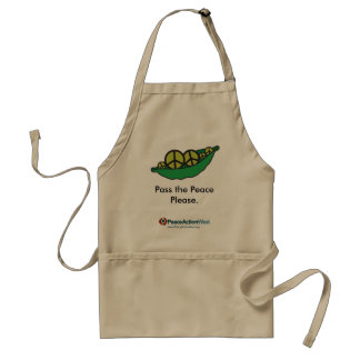 Pass the Peace Please. Apron