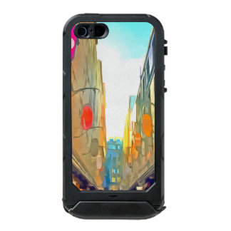 Passage between colorful buildings incipio ATLAS ID™ iPhone 5 case
