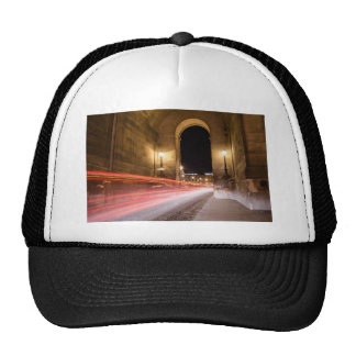 passage car traffic at night trucker hat