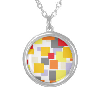 Passe Confetti Silver Plated Necklace
