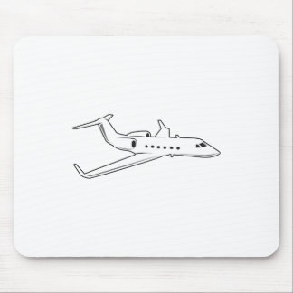 PASSENGER AIRPLANE MOUSE PAD