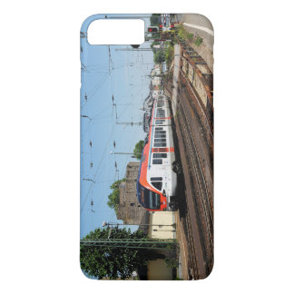 Passenger train in coarse home on the Rhine iPhone 8 Plus/7 Plus Case