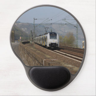 Passenger train in Niederheimbach Gel Mouse Pad
