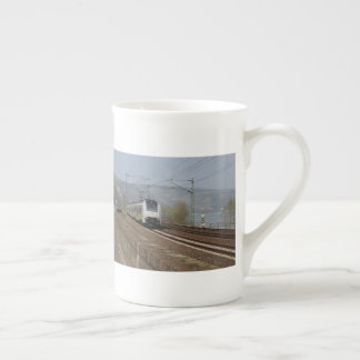 Passenger train in Niederheimbach Tea Cup