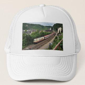 Passenger train in St. Goar Trucker Hat