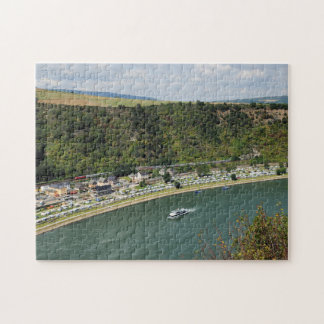 Passenger train to the Loreley Jigsaw Puzzle