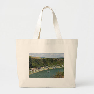 Passenger train to the Loreley Large Tote Bag
