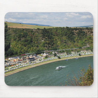 Passenger train to the Loreley Mouse Pad