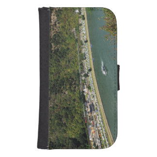 Passenger train to the Loreley Samsung S4 Wallet Case