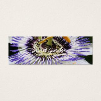 Passiflora 3 Floral Photography Mini Business Card