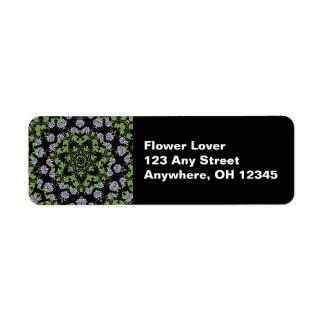 Passiflora Garden Label Return Address Label