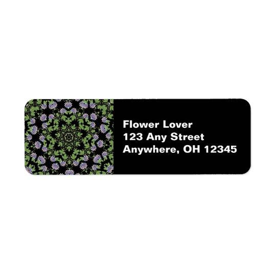 Passiflora Garden Label Return Address Label