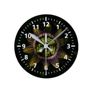 passiflora medium round clock
