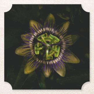 passiflora ticket paper coaster