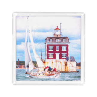 Passing Ledge Light Acrylic Tray