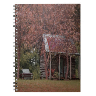 """Passing Time"" 80 paged lined noteboook Spiral Notebook"