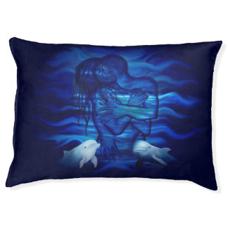 Passion act - pair with Dolphin pair Large Dog Bed