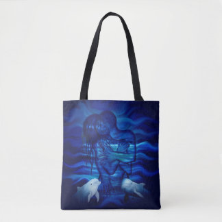 Passion act - pair with Dolphin pair Tote Bag